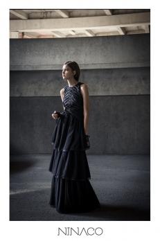 Ninaco Couture black dress