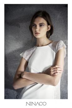 Ninaco Couture white luxury gown